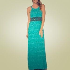 Prana Skye Dress in Retro Teal